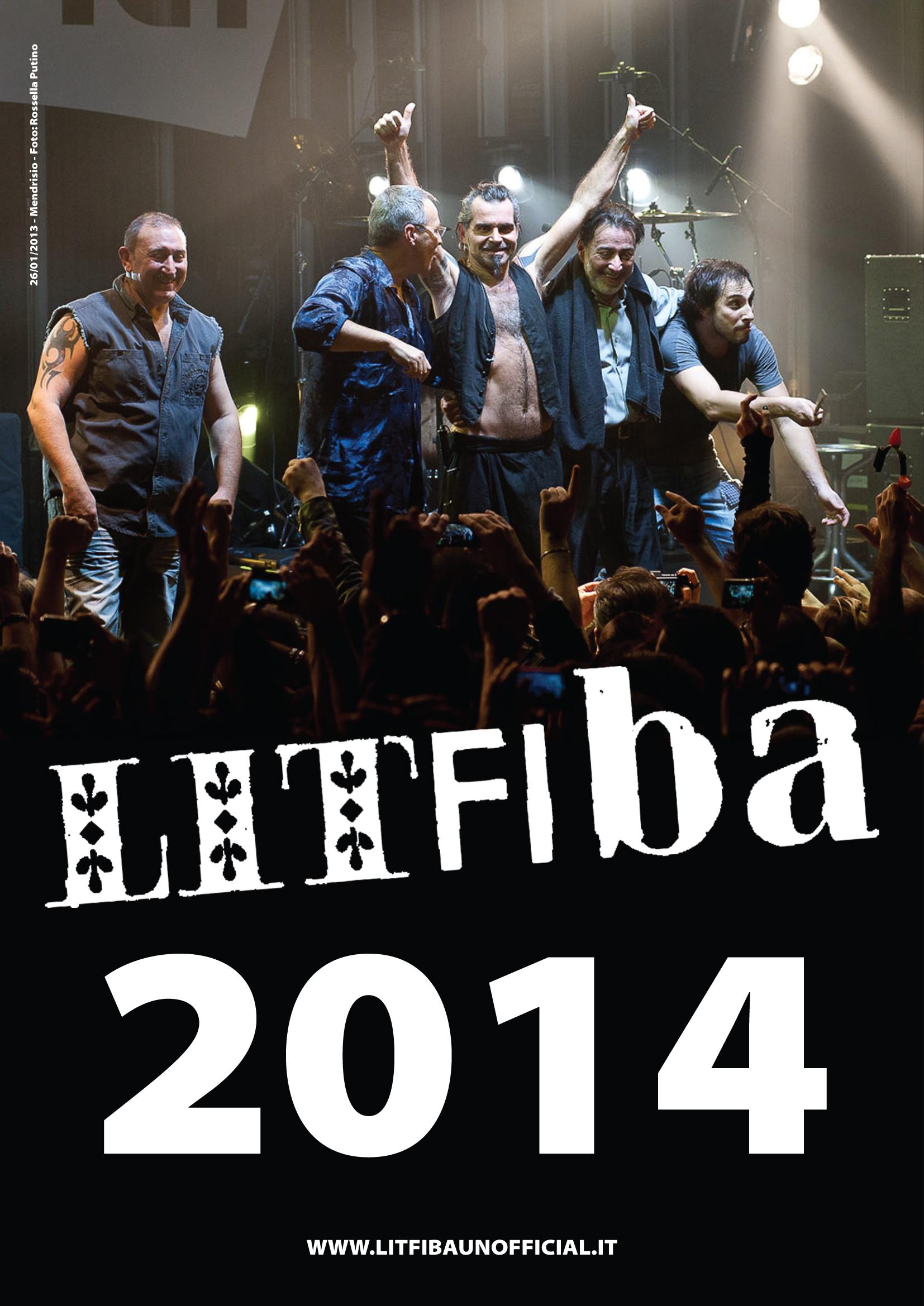 calendario Litfiba 2014
