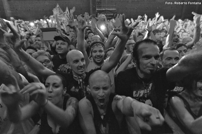 Litfiba - Villafranca - Trilogia Tour 1983-1989 - Foto: Roberto Fontana