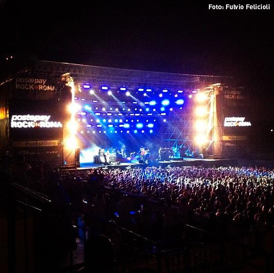 Litfiba - Roma - Grande Nazione Tour - Foto: Fulvio Felicioli