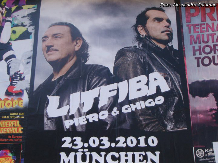 Litfiba - Reunion Tour - Monaco Foto: Alessandro Columbu