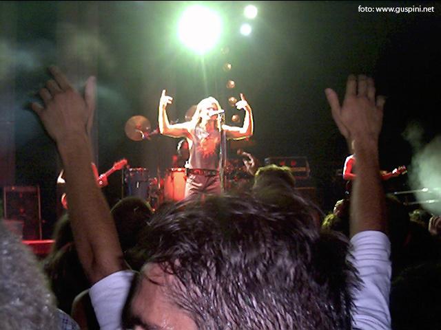Piero Pelù - Guspini - UDS Tour - Foto: www.guspini.net
