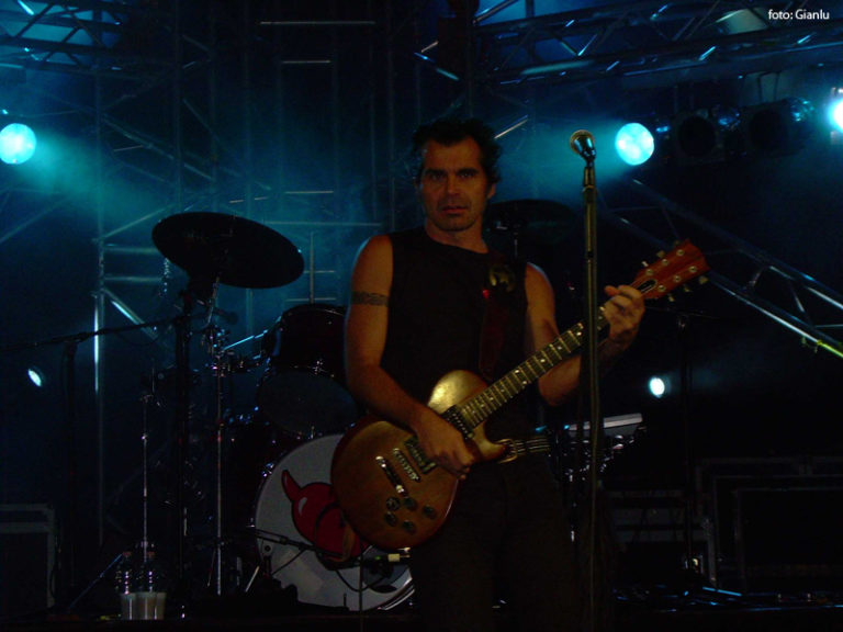 Piero Pelù - Maddaloni - In Faccia Tour - Foto: Gianlu