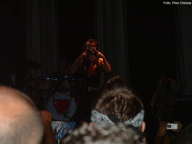 Piero Pelù - Iglesias - U.D.S. Tour - Foto: Pino Chessa