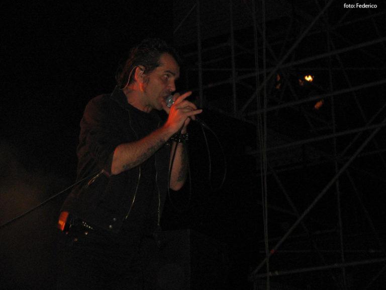 Piero Pelù - Cagliari - In Faccia Tour - Foto: Federico
