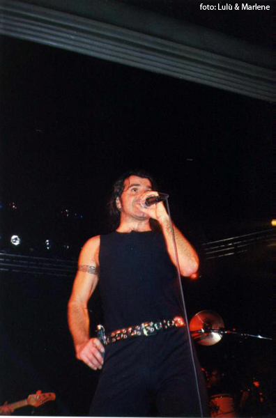 Piero Pelù - Cortemaggiore - U.D.S Tour - Foto: Lulù & Marlene