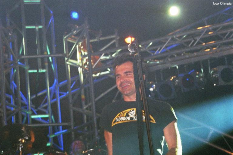Piero Pelù - San Giovanni in Fiore - In Faccia Tour - Foto: Olimpia