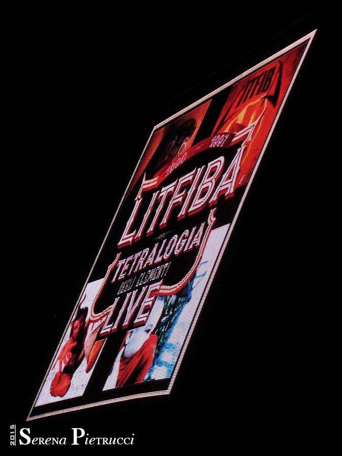 Litfiba - Roma - Tetralogia degli elementi Tour - Foto: Serena Pietrucci