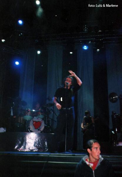 Piero Pelù - Modena - U.D.S. Tour - foto: Lulù & Marlene