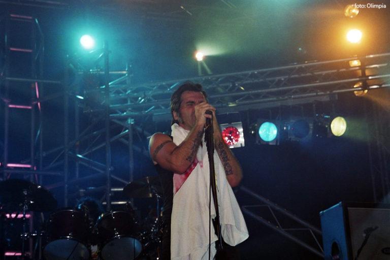 Piero Pelù - Viggianello - In Faccia Tour - Foto: Olimpia