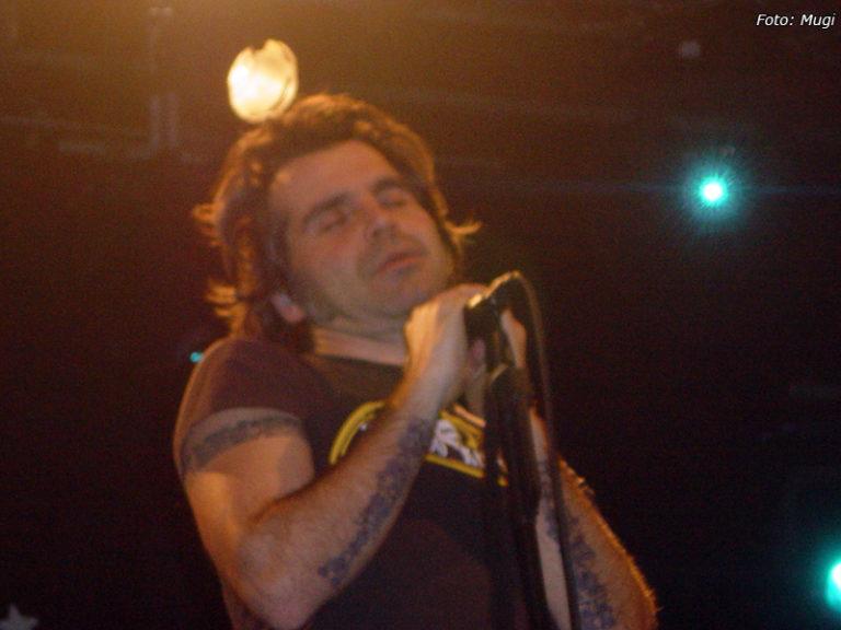 Piero Pelù - Bologna - In Faccia Tour - Foto: Mugi