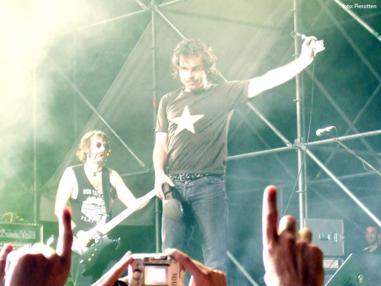 Piero Pelù - Marina di Camerota - In Faccia Tour - Foto: Pierotten