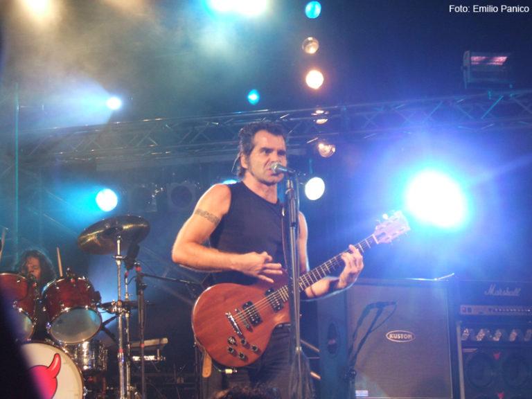 Piero Pelù - Maddaloni - In Faccia Tour - Foto: Emilio Panico