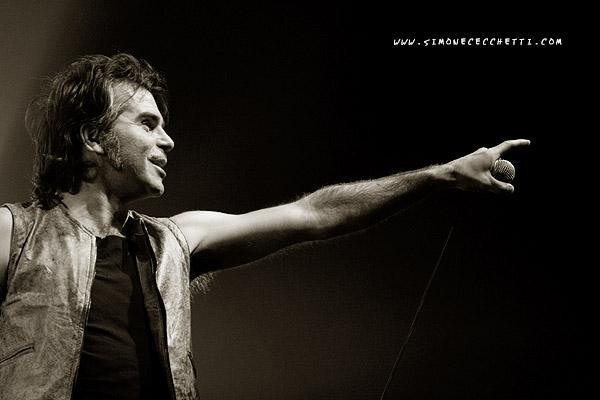 Piero Pelù - Roma - In Faccia Tour - Foto: Simone Cecchetti
