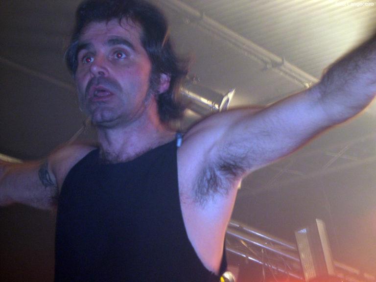 Piero Pelù - Trezzo d'Adda - In Faccia Tour - Foto: Cangaceiro