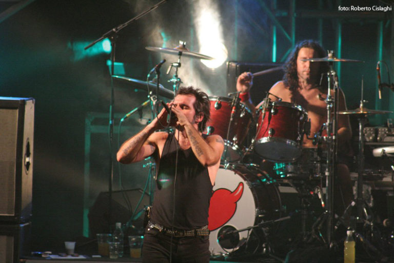Piero Pelù - Ferrara - In Faccia Tour - Foto: Roberto Cislaghi