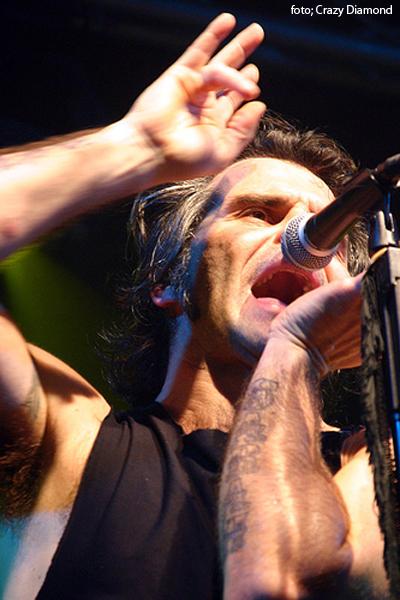 Piero Pelù - Trezzo d'Adda - In Faccia Tour - Foto: Crazy Diamond
