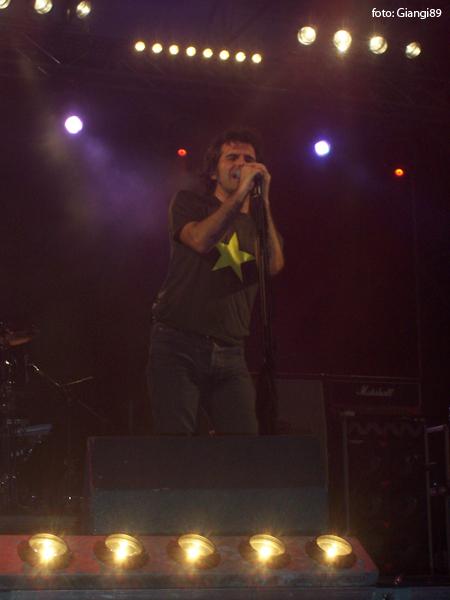 Piero Pelù - Marina di Camerota - In Faccia Tour - Foto: Giangi