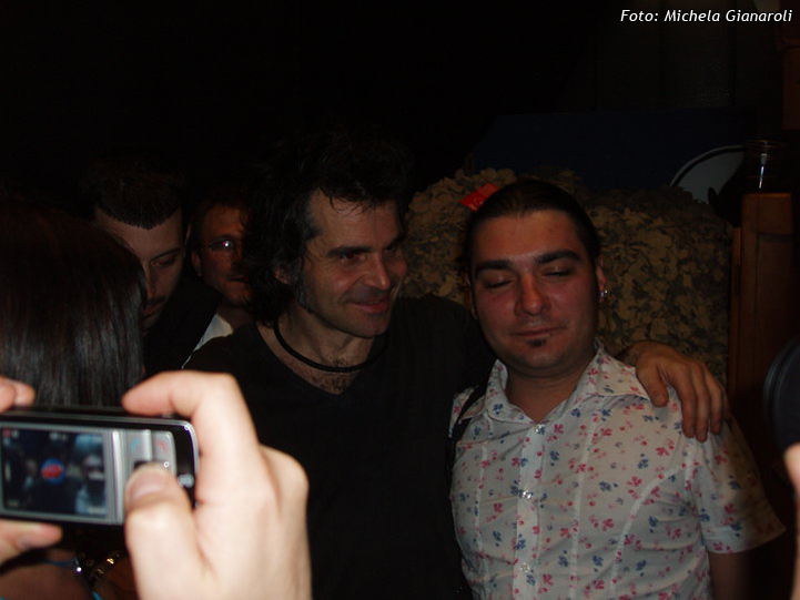 Piero Pelù - Ginevra - In Faccia Tour - Foto: Michela Gianaroli