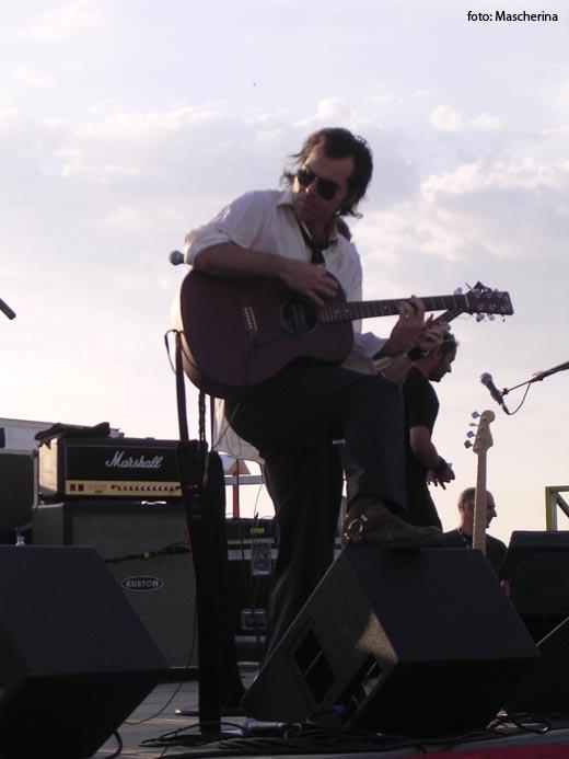 Piero Pelù - Senigallia - In Faccia Tour - Foto: Mascherina