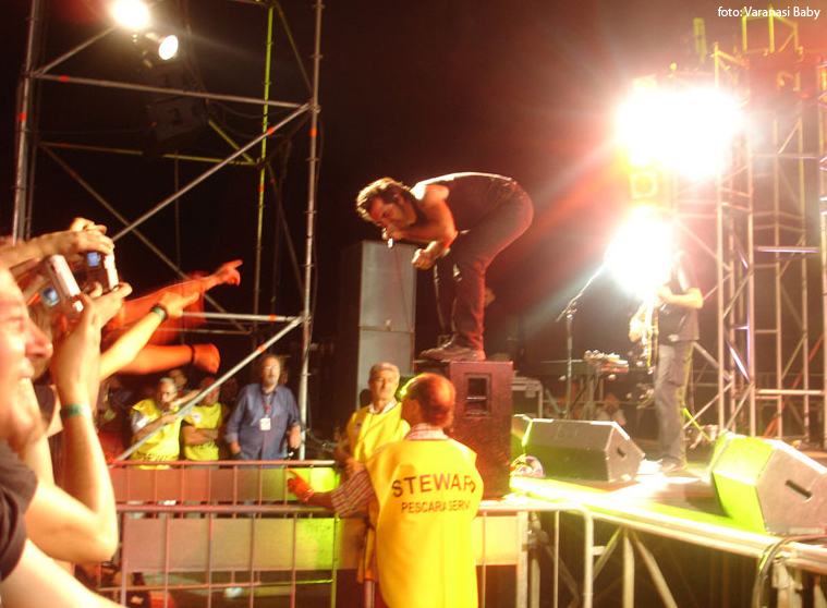 Piero Pelù - Giulianova - In Faccia Tour - Foto: Varanasi Baby