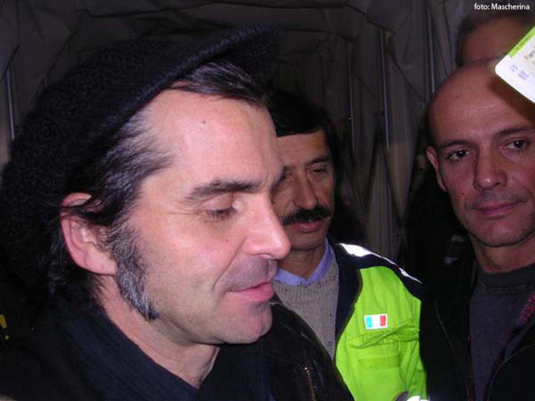 Piero Pelù - Osimo - In Faccia Tour - Foto: Mascherina