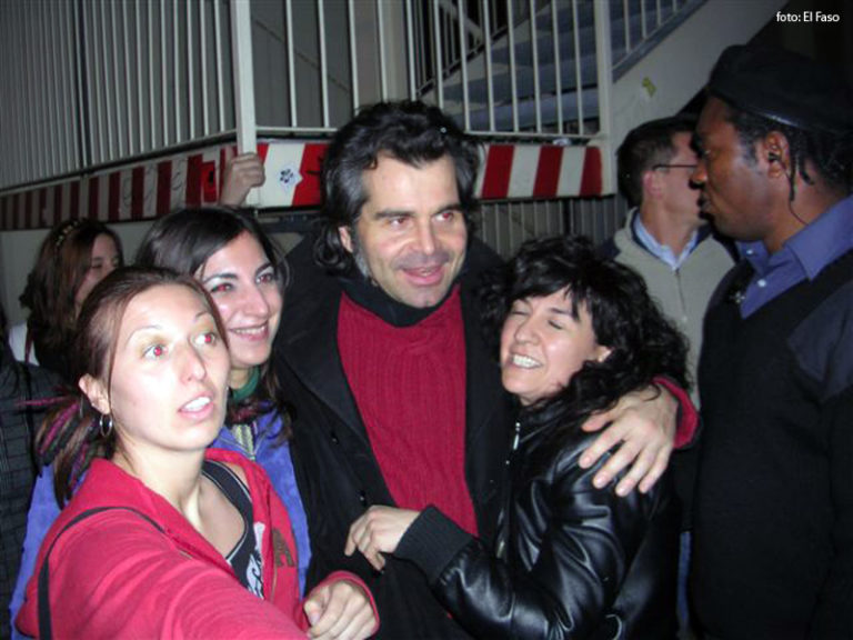 Piero Pelù - Trezzo d'Adda - In Faccia Tour - Foto: Alberto Fasola