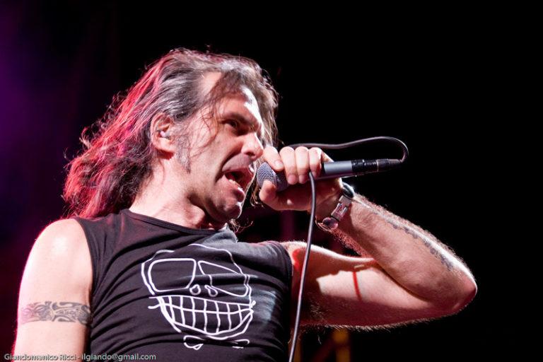 Piero Pelù - Fenomeni Live Tour - Capoterra - Foto: Giandomenico Ricci