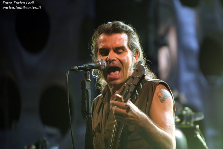 Piero Pelù - Carpi - Fenomeni Live Tour - Foto: Enrica Lodi