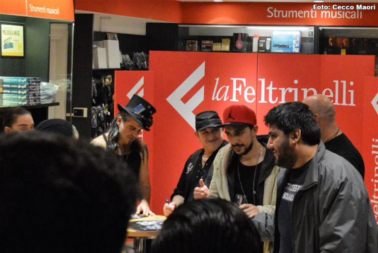 Litfiba Bari Presentazione Eùtopia - Foto: Cecco Maori