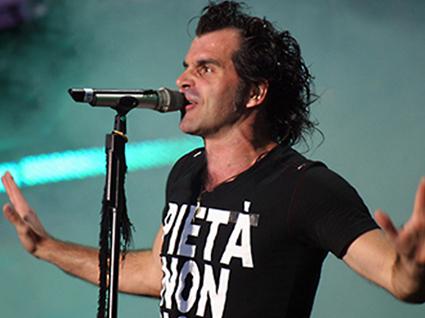 piero pelù live8 roma