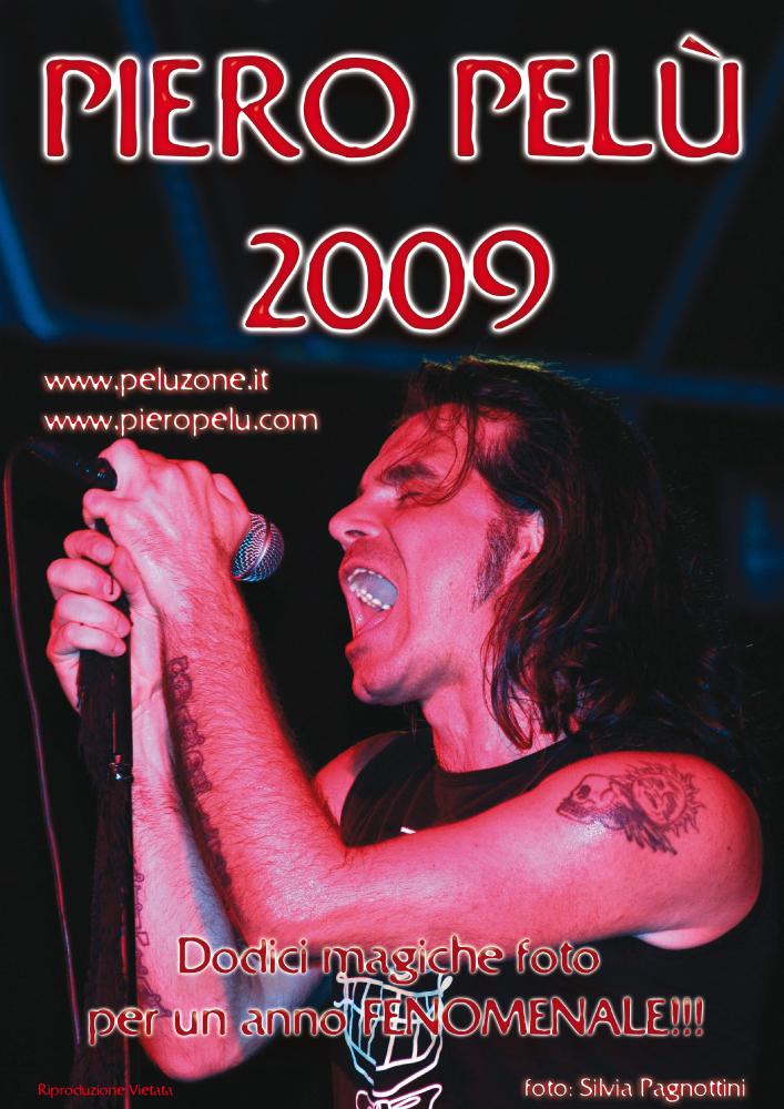 calendario Piero Pelù 2009