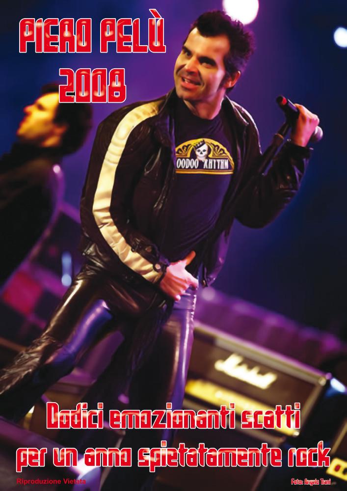 calendario Piero Pelù 2008