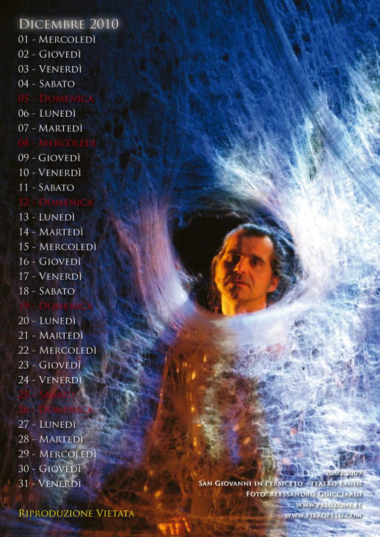 calendario Piero Pelù 2010 - Dicembre