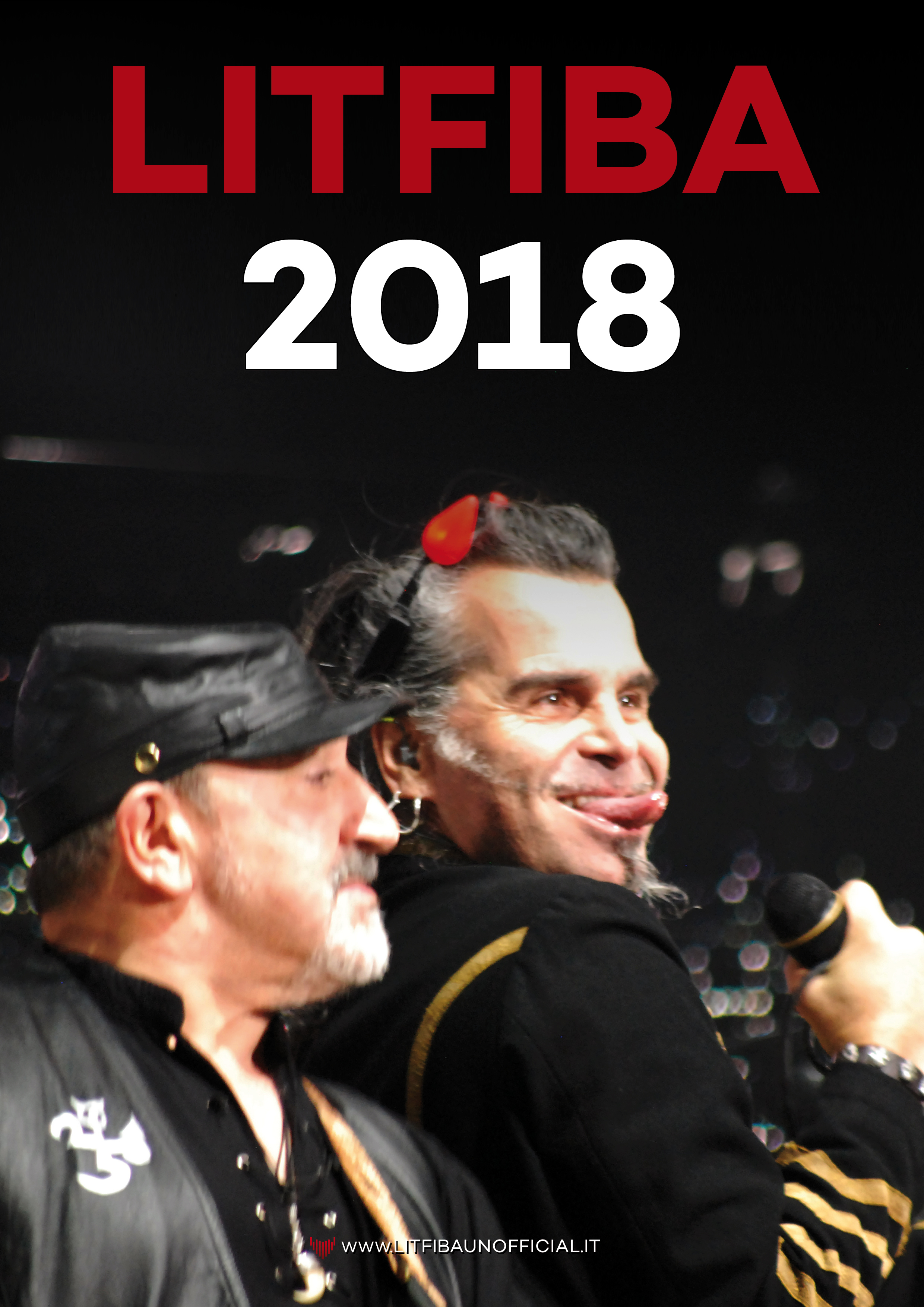 calendario Litfiba 2018