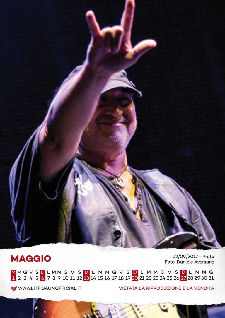 Calendario Litfiba 2018 - Maggio